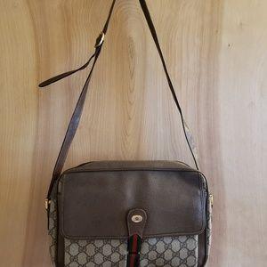 """Gucci vintage purse 12""""long 3"""" wide x9.5 h"""
